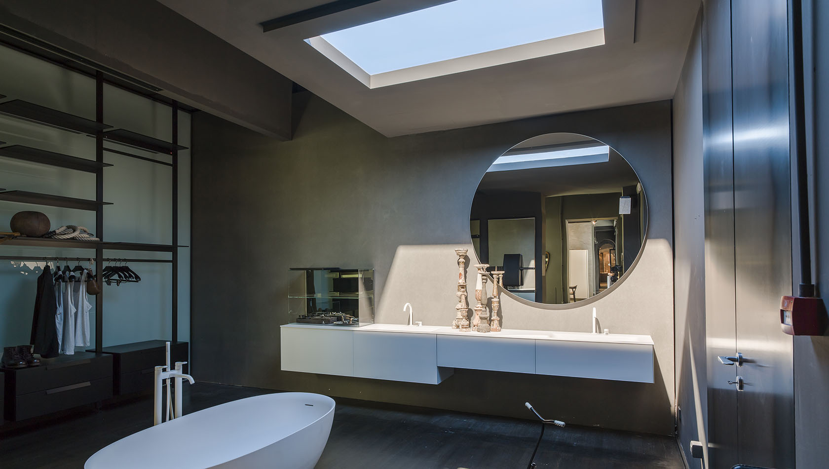 CoeLux Sun And Sky Into The Bathroom Environment Of Boffis - Boffi bathroom